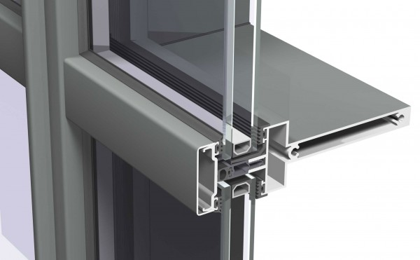 Metal Curtain Wall Details : Products quest windows